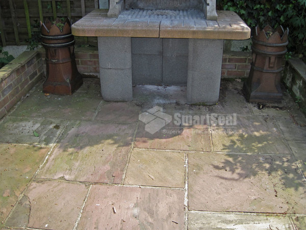 Indian sandstone pre clean